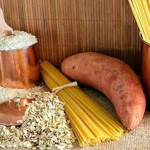 Produkty o niskim indeksie glikemicznym: ryż, makaron, płatki zbożowe