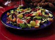Sałata zielona z owocami - ugotuj