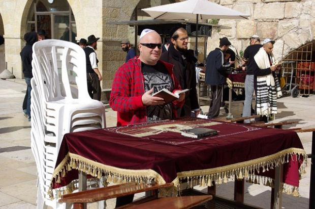 Krzysztof Skiba w Izraelu