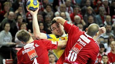 Liga Mistrzów: MKB Veszprem - Vive Targi Kielce (21:24)