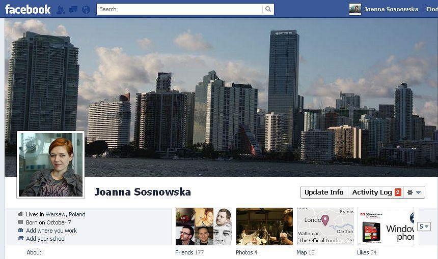 Timeline, nowy profil na Facebooku