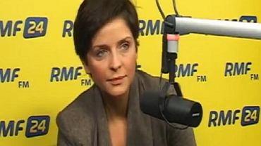 Joanna Mucha w RMF FM