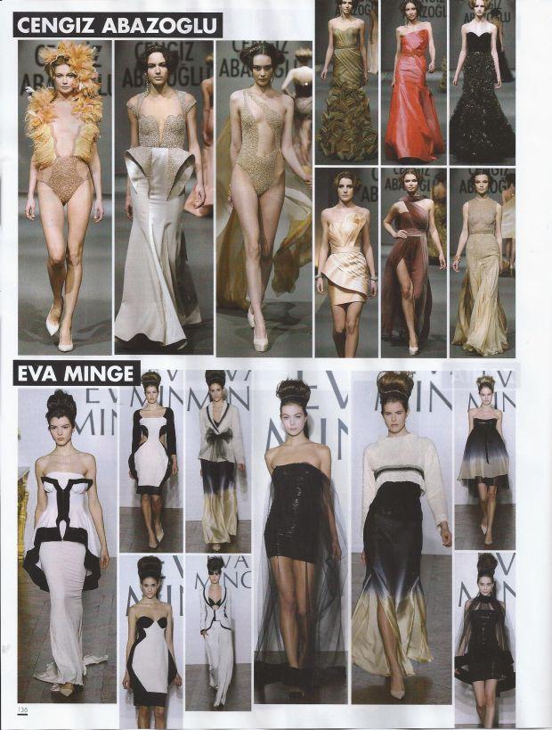 Eva Minge, pokaz mody, paryski tydzień mody