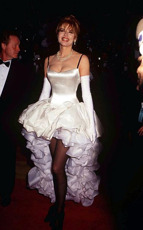 PHOTO: EAST NEWS/REX FEATURES  GEENA DAVIS  ACADEMY AWARDS IN LOS ANGELES, AMERICA - 1992
