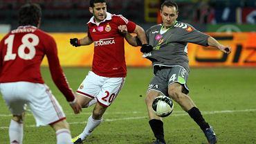 W sezonie 2011/12 Korona wygrała w Krakowie z Wisłą 1:0