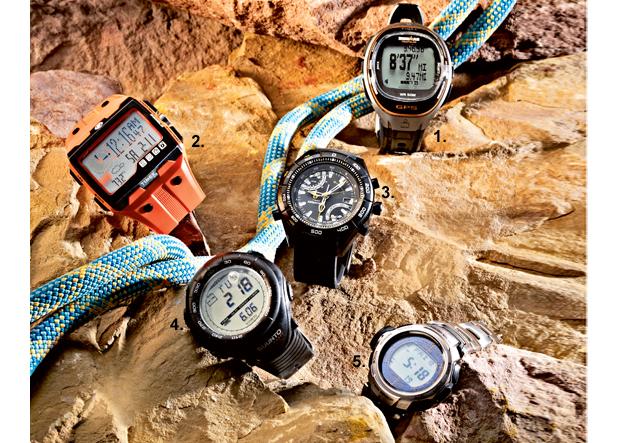 zegarki , zegarek z wysokościomierzem, wysokościomierz