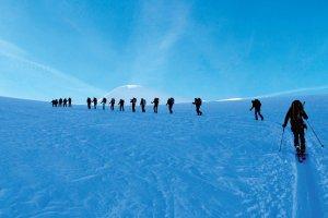 Sto kilometrów na nartach