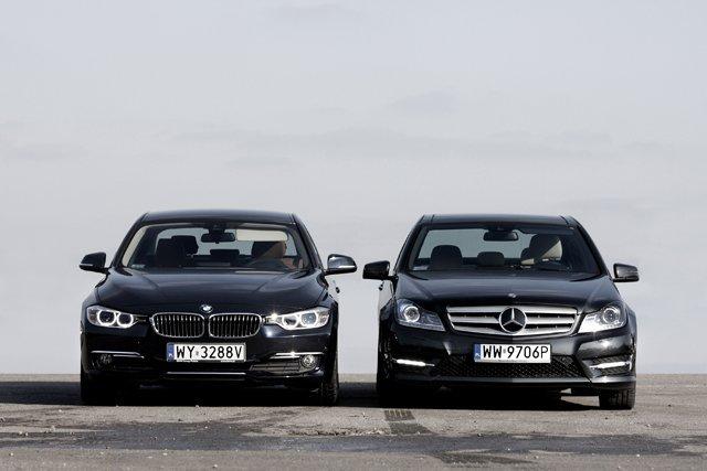 BMW serii 3 Mercedes C-klasa