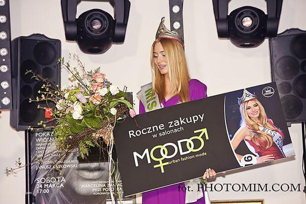 Marcelina Zawadzka jako ambasadorka sopockiej firmy Moodo.