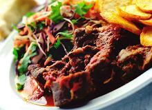 Mięso kozie z pomidorami - ugotuj