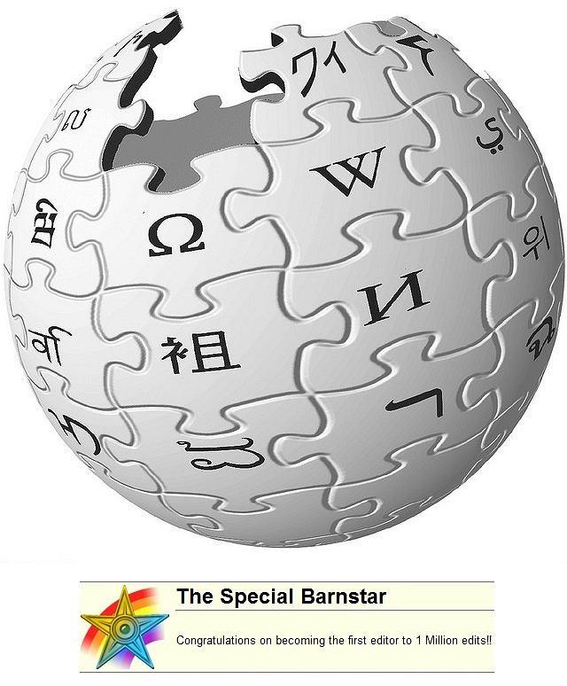 Justin Knapp, wikipedysta z milionem edycji