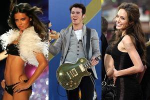 Adriana Lima, Kevin Jonas, Angelina Jolie.