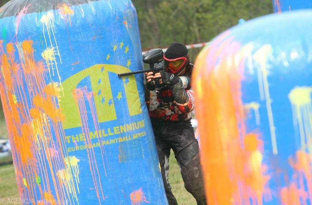 Pierwsze zawody w Polskiej Lidze Paintballowej na campingu Tramp w Toruniu