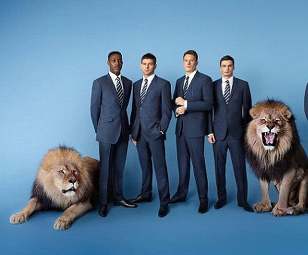 Reprezentacja Anglii i lwy