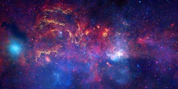 Centrum Drogi Mlecznej - zdjęcie opublikowane przez NASA 10 listopada 2009 roku, w 400 rocznicę pierwszego wykorzystania teleskopu przez Galileusza.