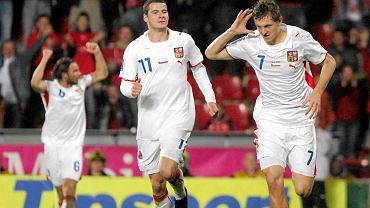 Tomas Necid w kadrze Czech (z prawej).