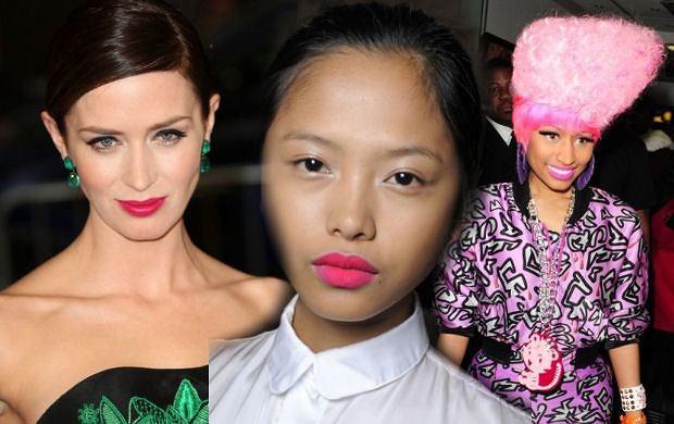 Nowy trend w makijażu - różowy. Jaki jego odcień wybierasz?