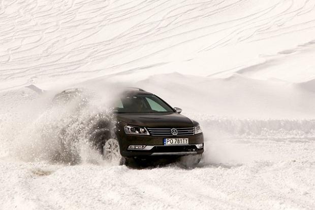 Volkswagen Passat Alltrack - test   Pierwsza jazda