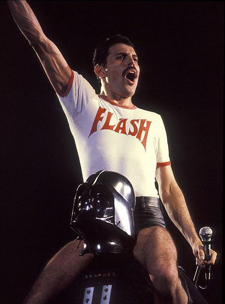 Freddie Mercury i Darth Vader