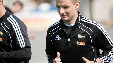 Jakub Wilk jako piłkarz Lechii Gdańsk