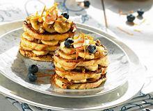 Lazania z francuskich tostów z bananami i orzechami w syropie - ugotuj