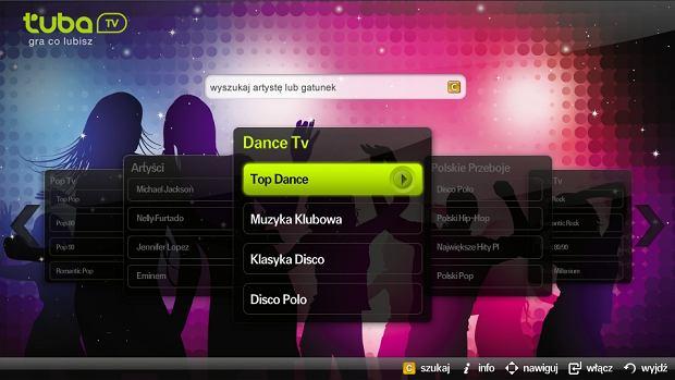 Aplikacja Tuba.TV w Samsung Smart TV