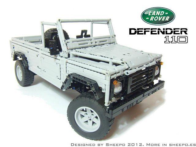 Land Rover Defender z klocków LEGO