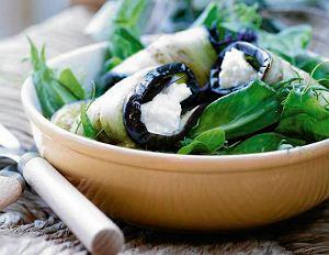 Ruloniki z grillowanych warzyw