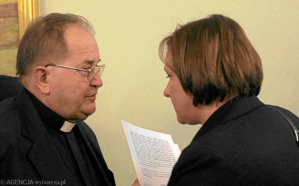 O. Tadeusz Rydzyk i Beata Kempa