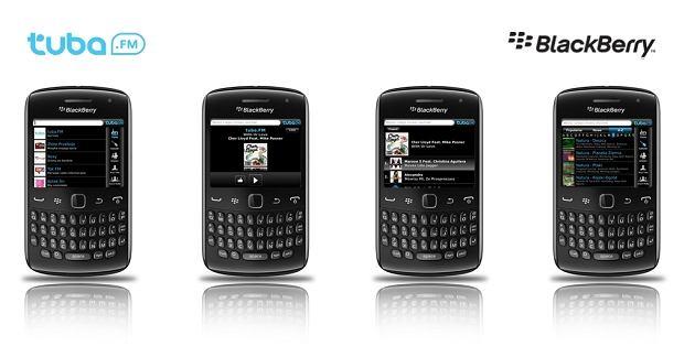 Aplikacja tuba.FM na smartfony BlackBerry