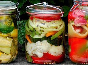 Pikle warzywne z miodem