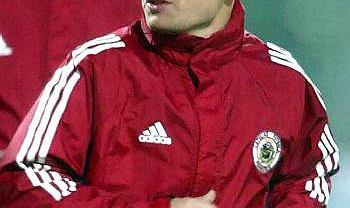 Marians Pahars jeszcze jako piłkarz