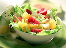 Sałatka ze szparagów i pomarańczy - ugotuj
