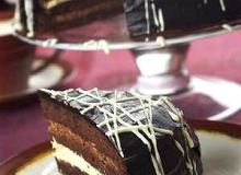 Tort z czekoladowego biszkoptu - ugotuj