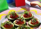 Cukinia z pomidorami i bazylią