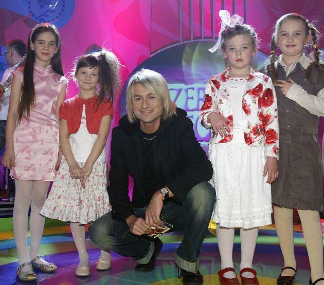 Piotr Rubik i dzieci
