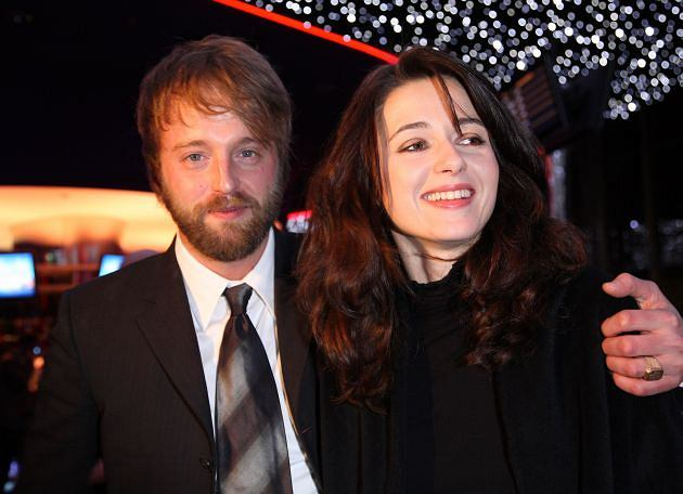 Joshua Leonard i Agnieszka Grochowska
