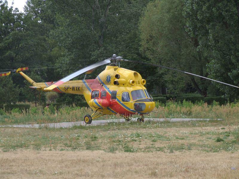 Mi-2 Plus Lotniczego Pogotowia Ratunkowego