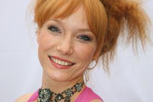 Natapirowana ruda aktorka Magda Walach