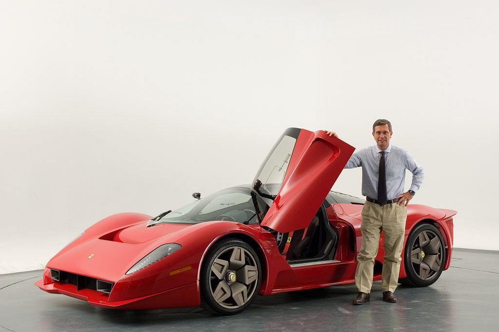 Andrea Pininfarina i Ferrari P4/5
