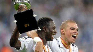 Mahamadou Diarra (z lewej) i Pepe