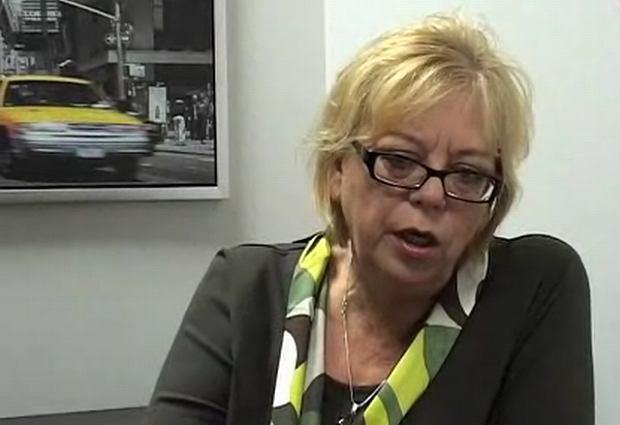 Elżbieta Zapendowska, kadr z wywiadu