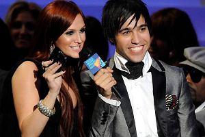 Pete Wentz i Ashlee Simpson na MTV Video Music Awards 2008