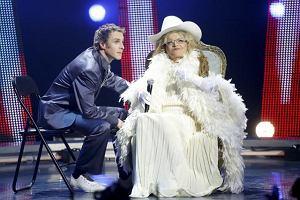 Violetta Villas wystapila goscinnie w programie i zaspiewala w duecie z Arturem Chamskim