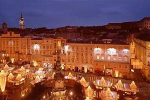 Linz nad Dunajem. Tort w kratkę z miasta cukierników