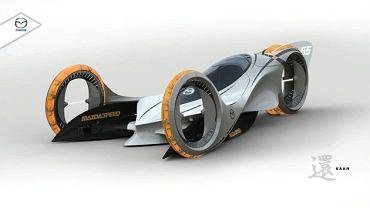 Mazda Kann - wizja samochodu sportowego z 2025 roku