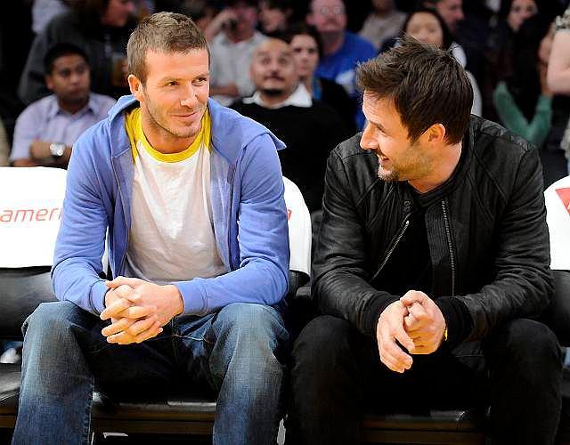 David Beckham, David Arquette