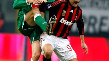 Andrea Barzagli (Wolfsburg) i Filippo Inzaghi (AC Milan)