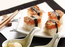 Sushi z pieczonym łososiem - ugotuj