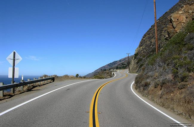 USA/Autostrada Numer 1, Zachodnie Wybrzeże USA